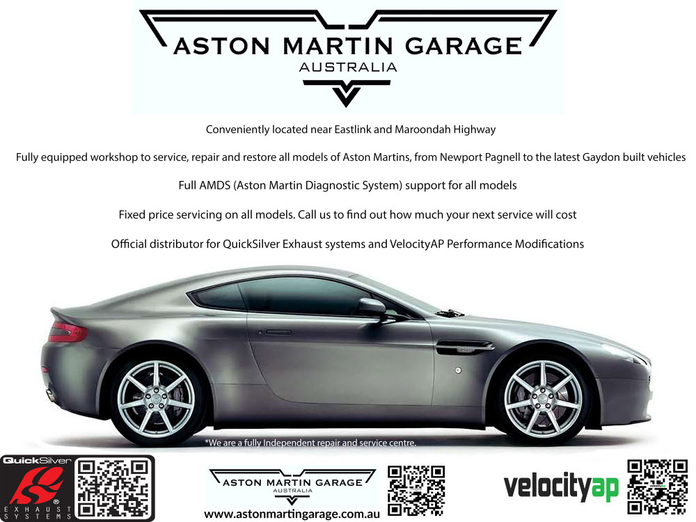 Aston Martin Spare Parts, Mechanical Repairs, Servicing, Restoration